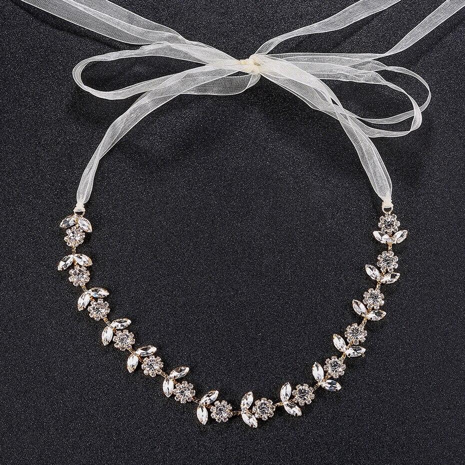 Handmade Opal Braut Kopfstück Braut Hairwear Blatt Haarband Pageant Reben Stirnband Hochzeit Strass Haarschmuck Für Frauen