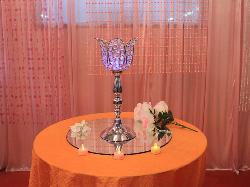 doprava zdarma svatba kontinentální D18H45CM lotus svícen silniční vedení svatební party dekorace lotus