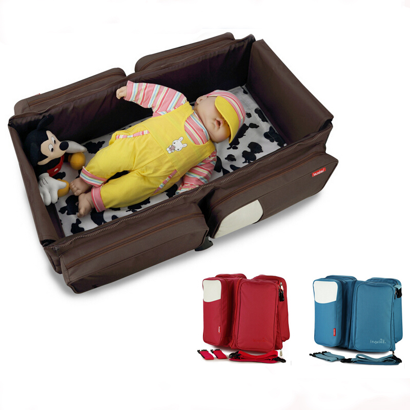 super light portable baby cradle folding bassinet crib bed promotion 6pcs baby bedding set cot crib bedding set baby bed baby cot sets include 4bumpers sheet pillow
