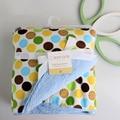 Зимние Детские одеяла сгущаться двойной слой флиса пеленать младенца bebe коляска обернуть конверт для новорожденных детское постельное белье одеяло