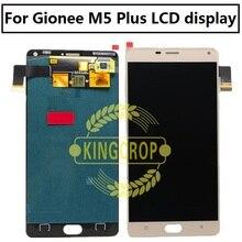 Para gionee marathon m5 plus m5plus lcd digitador da tela de toque sensor display assembléia tela do painel para gionee m5 lcd