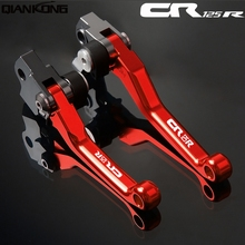 Motorcycle brakes Motorcycle Brake Clutch Levers FOR HONDA CR125R 1992 1993 1994 1995 1996 1997 1998 1999-2013 CR 125R цены