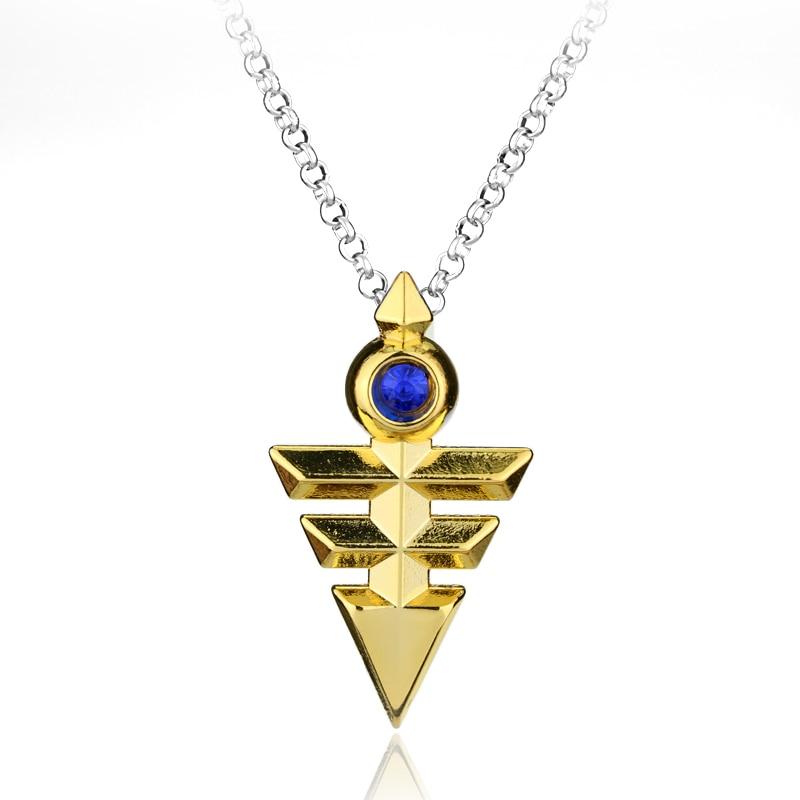 Новое поступление, цепочка Yugioh Zexal Yuma для косплея, ожерелье Yu-Gi-Oh, металлическая подвеска, аниме Yu Gi Oh, аксессуары-30