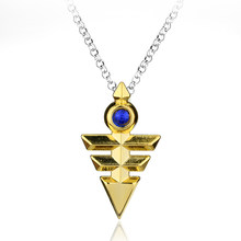 Hot New Arrival Yugioh Zexal Yuma Cosplay Link Chain Necklace Yu-Gi-Oh Metal Pendant Anime Yu Gi Oh Accessories-30(China)