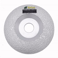 4 5 115mm Vacuum Brazed Diamond Grinding Wheel Cutting Available Multi Purpose Much High Effiecient