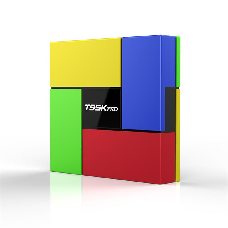 T95K PRO 2G 16G/3G 32G Amlogic S912 3GB Android 7.1 TV Box 8 Core Dual Band WIFI Bluetooth 4.0 vs h96 pro 4K H.265 VP9 HDR 3D t95k pro amlogic s912 android 6 0 2g 16g tv box rii i8 white