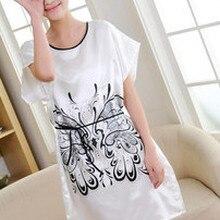 Camisola de verão Sleepwear Sono de Manga Curta da camisa das Mulheres da  moda camisola das Mulheres Roupa Em Casa frete Grátis 12f5efbb8