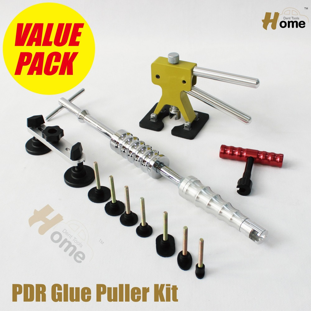 Car Body Paintless Dent Repair Tools PDR Bridge Puller & Glue Pulling Tabs Dent Lifter Slide Hammer  PDR-259  super pdr car paintless dent repair tools kit t bar dent lifter green dent puller pulling bridge set glue gun dent tabs