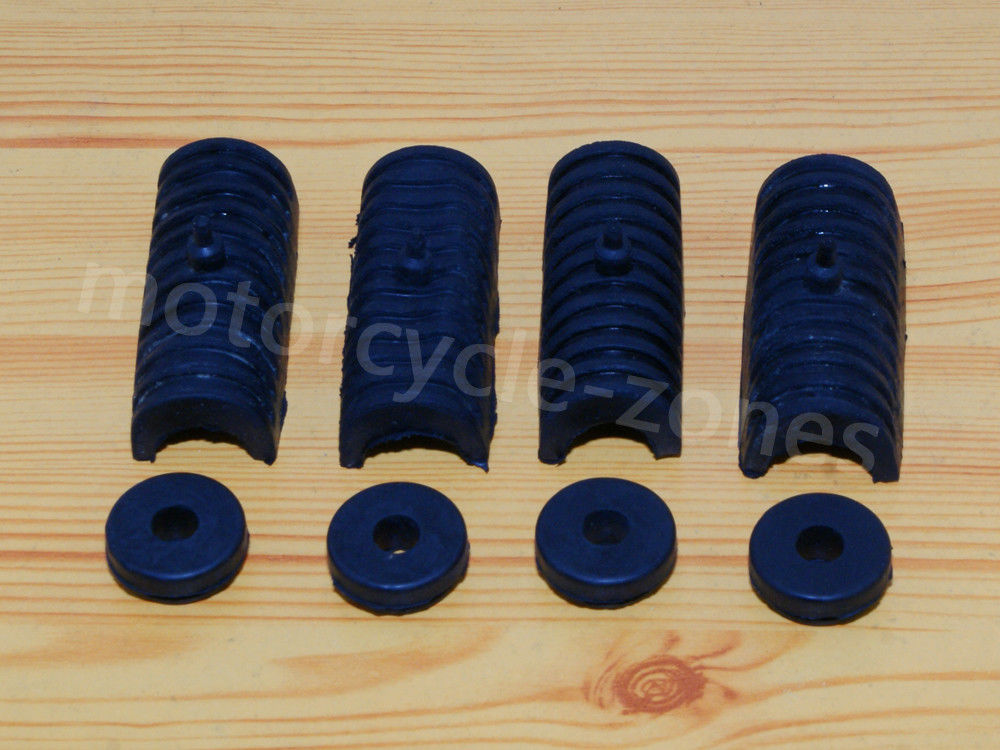 4 pcs Rubber Cushions Grommets For 2014-Later Harley Touring Hard Saddle bags