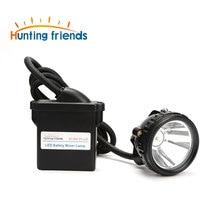 10pcs/lot KL8M.P LED Miner Lamp Waterproof Mining Headlamp Explosion Proof Mining Cap Lamp Rechargeable flashlight headlamp
