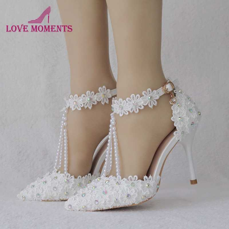341dd1703f Detail Feedback Questions about Fashion Lady Wedding Dress Shoes ...