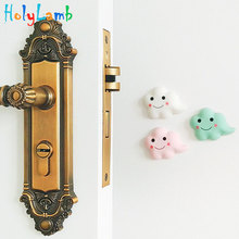3Pcs/Lot Fashion Cloud Design Baby Safety Security Card Door Stopper Newborn Care Child Lock Protection Stop