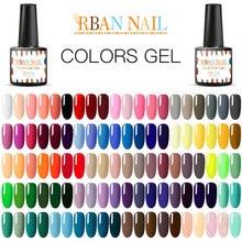 RBAN гель для ногтей Гель-лак для ногтей Краска полуперманентные ногти художественный Гель-лак для ногтей для маникюра Гель-лак верхнее покрытие Гибридный праймер