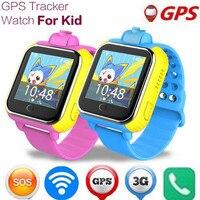 3G Montre Smart Watch Enfants Montre-Bracelet Q730 3G GPRS GPS Locator Tracker Anti-Perte Smartwatch Bébé Montre Avec caméra Enfants Montre F24