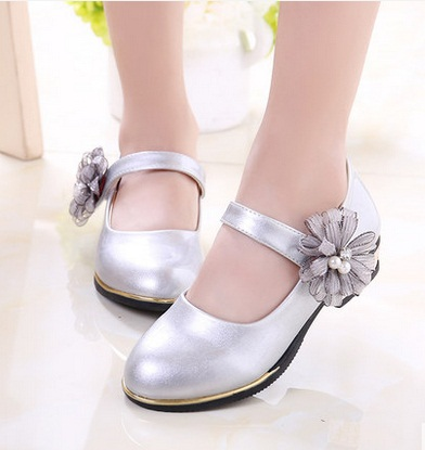 Buy children wedding shoes silver and get free shipping on AliExpress.com 1737dedfc188