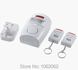 NewHome 2 Sistema de Controle Remoto Sem Fio IR Infrared Sensor de Movimento Detector De Alarme De Segurança