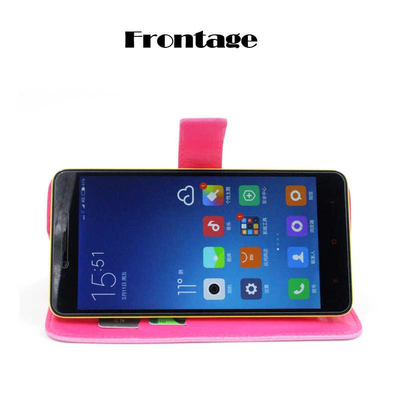 Para DEXP Ixion EL350 Volt 8 negocios teléfono funda cartera cuero soporte cubierta protectora con ranura para tarjeta