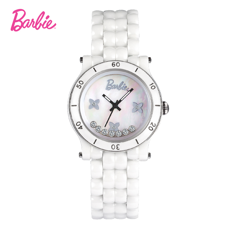 2017 Barbie women watches new-designed waterproof and anti-magnetic simple style Chinese ceramic fashionable ladies watch