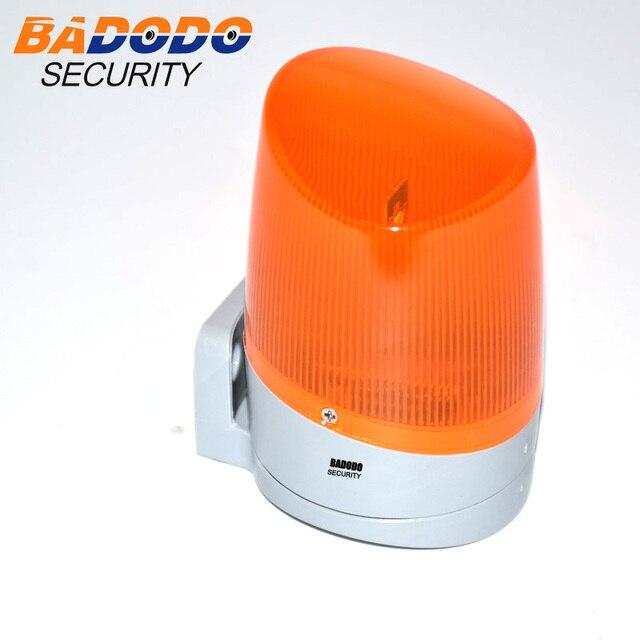 Outdoot Garage Home otwieracz bramy diody led na motocykl migające światło migająca lampka sygnalizacyjna