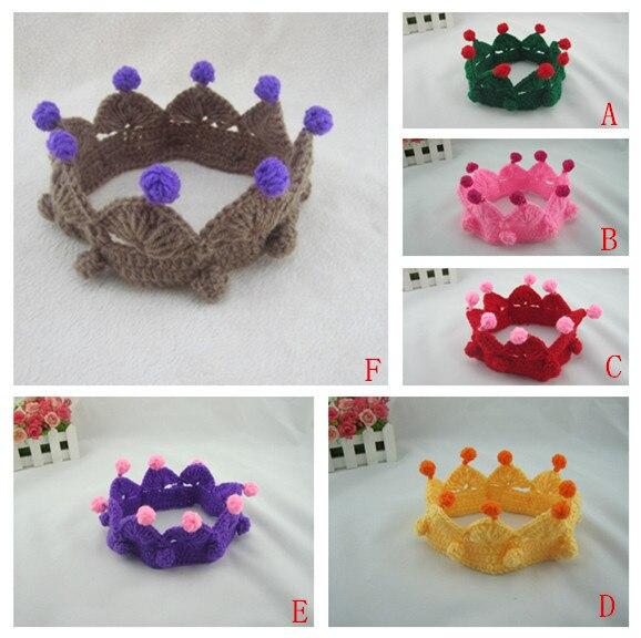 っCumpleaños del bebé headwear una corona pelo decorar algodón ...