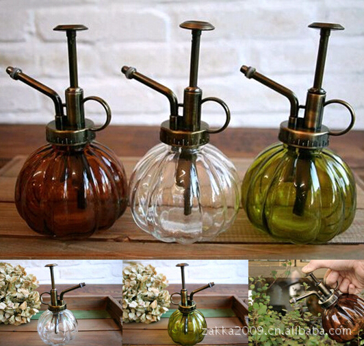 Vintage Antique Copper Watering Can Colo