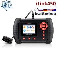 VIDENT iLink450 Full Service Tool,Oil Reset EPB ABS SAS Airbag Reset Throttle Body Alignment DPF Regeneration Better than NT644