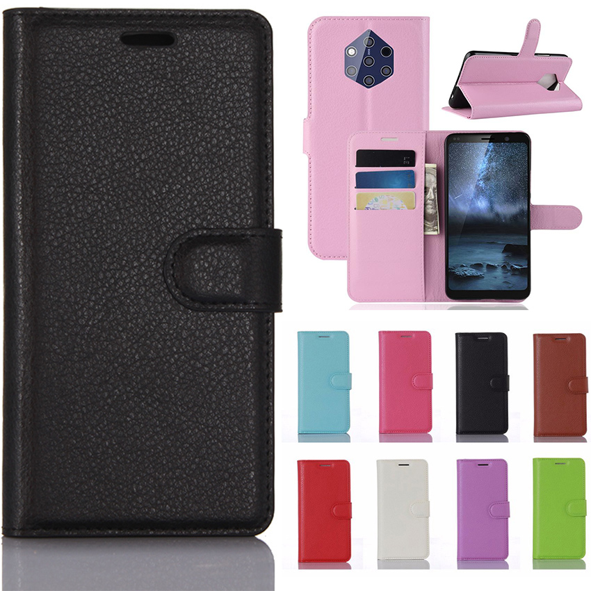 Nokia 9 PureView Case Nokia9 PureView Case PU Leather Cover Phone Case For Nokia 9 PureView TA-1094 TA 1094 Case Flip Cover 9