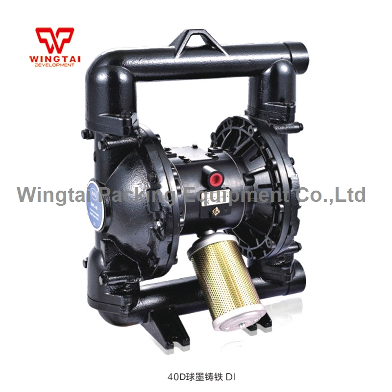 1.5'' Ductile Iron Slurry Pump Mud Pump Air Double Diaphragm Pump Replace ARO pump hot sale suction pump mud slurry pumps mud pump specifications emergency bilge pump made in china
