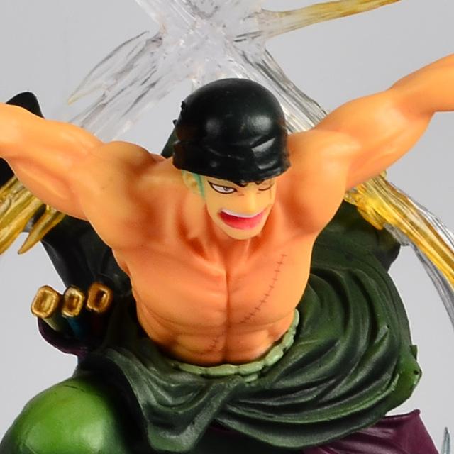 One Piece Roronoa Zoro Dracule Mihawk Banpresto Anime Action Figure
