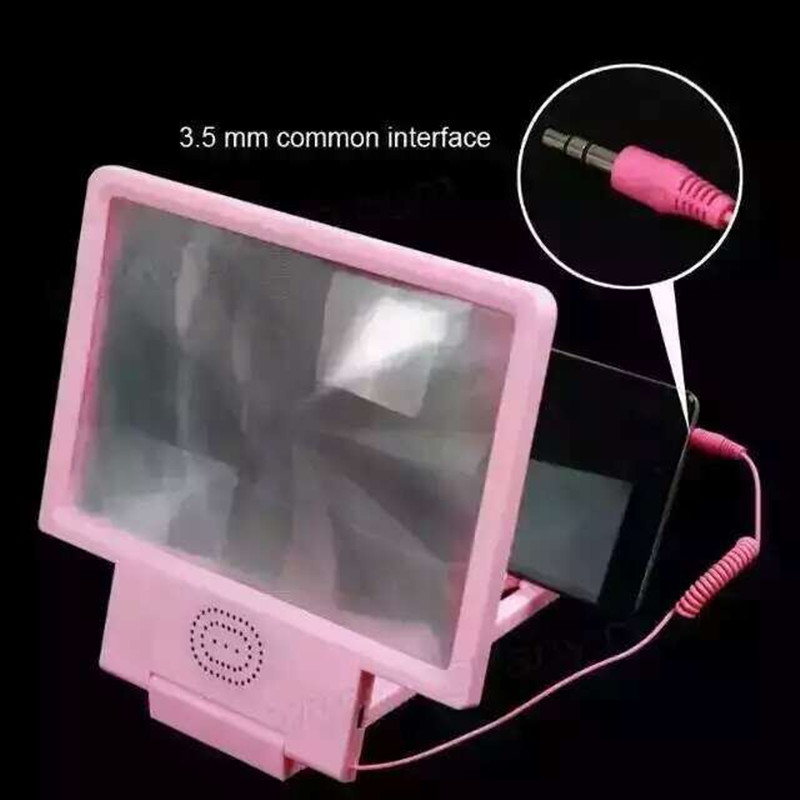 3D Movie Amplifier Foldable Mobile Phone Screen Magnifier Video ...