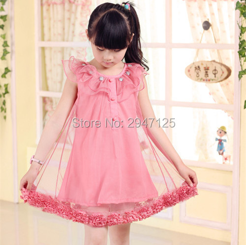 Baby girl clothes Nimble New Summer Princess Girls Dress Lace Appliques Girls Dresses for Party and Wedding Birthday Party nimble dresses for girls lace appliques princess party cloth