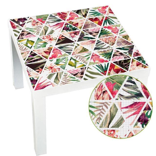 Heißer Wasserdicht Abnehmbare Selbst Adhesive Wand Decals PVC Tisch Schreibtisch Tops Tuch Wand Abziehbilder Aufkleber Decor Ornamente 55X55Cm
