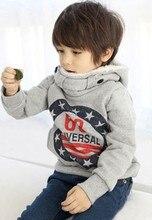 Children's Winter Pullovers Boys Hoodies Long Sleeve Autumn Girls Jacket Coat Children Hoodies 2-6yrs Free Shipping