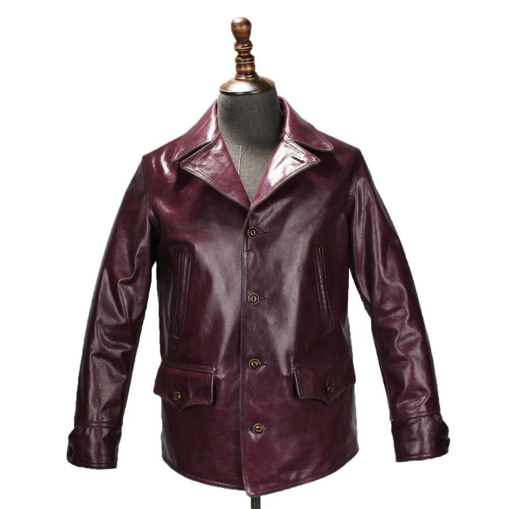 READ THE DESCRIPTION ! Asian size ! super quality genuine cow leather jacket vintage genuine cowhide leather jacket 171110D