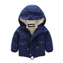 lisacmvpnel(lisacmvpnel)Pure cotton boy thick warm coat baby boy clothes The winter coat thick cotton padded jacket