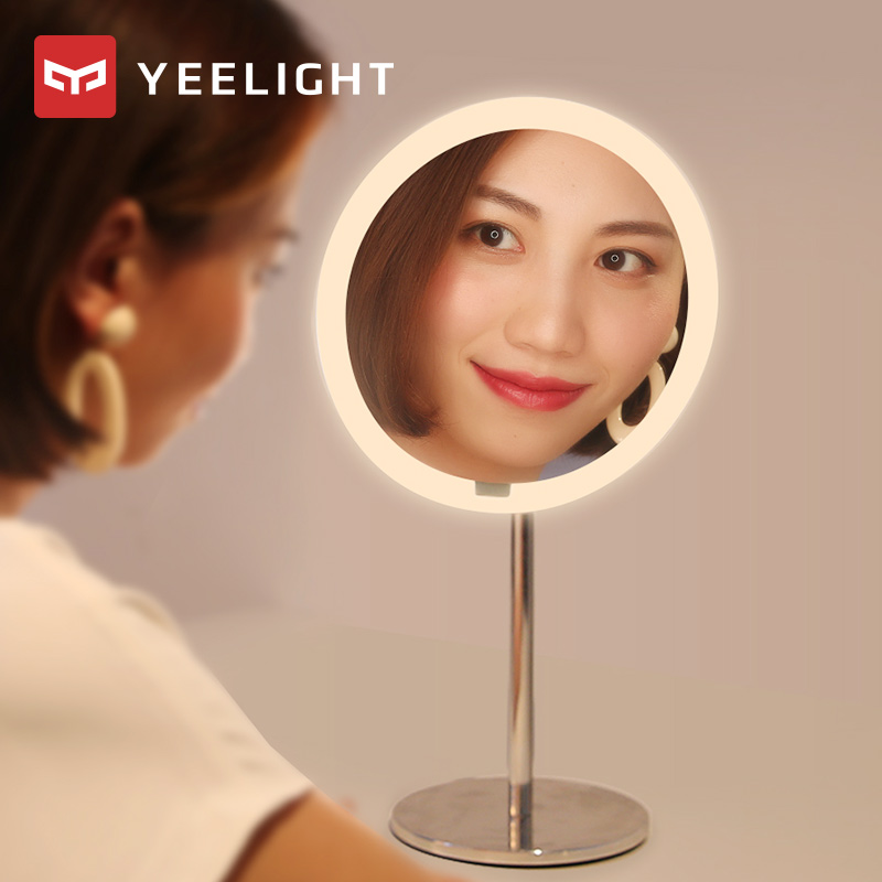 Original Xiaomi Yeelight LED Sensor Makeup Mirror Lamp 3 Lighting Modes USB Charging Table Lamp Smart