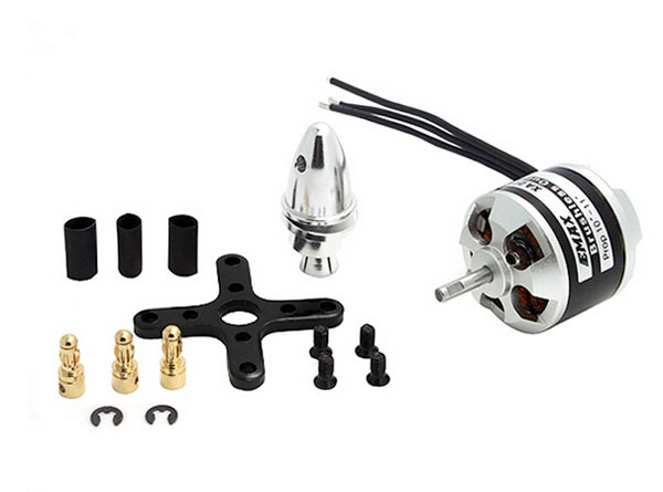 EMAX XA2212 980KV 820KV 1400KV Outruner Brushless Motor w / Prop Adapter and Accessories for RC DJI F450 F550 FY450 Quadcopter