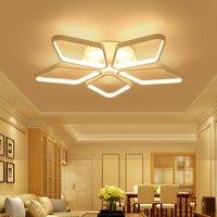 פוסט מודרני תקרת אורות סלון חדר שינה אוכל חדר ילדים חדר אור אקריליק אהיל מקורה lampara דה techo sala-בתאורת תקרה מתוך פנסים ותאורה באתר