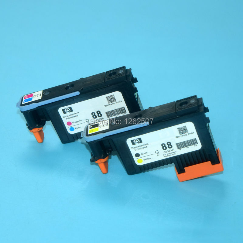 For hp 88 printhead for hp officeJet pro K5400 K8600 K550 K5300 printer print head 1set 2 pieces 4colors стоимость