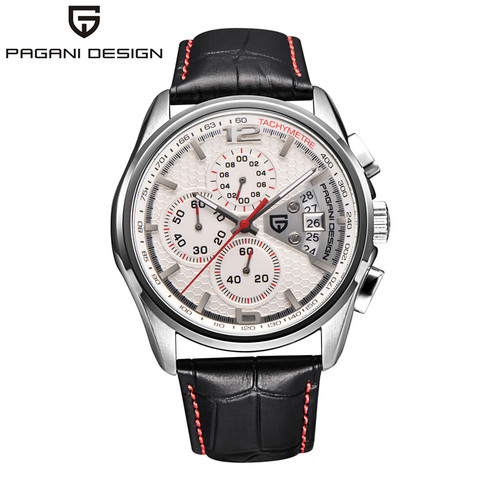 Men Quartz Watches PAGANI DESIGN Luxury Brands Fashion Timed Movement Military Watches Leather Quartz Watches relogio masculino Lahore