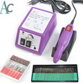 Portable Electric Nail Drill Machine Nail Art Equipment Manicure Nail Tools Pedicure Acrylics Nail Drill Pen Set 30 x Drill Bits