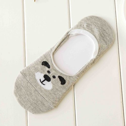 High Quality Womens Cute Non-Slip Boat Loafer Cotton Invisible Low Cut No Show Socks 1 Pairs