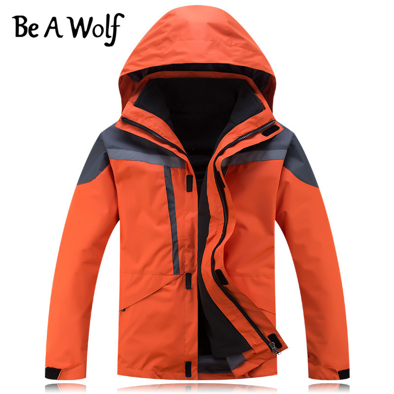 Be A Wolf Winter Hiking Jacket Women Men Outdoor Camping Skiing Hunting Clothes Fishing Heated Waterproof Windbreaker Jackets H4 dropshipping winter hiking softshell jackets men outdoor fishing clothes camping skiing rainwindbreaker waterproof jacket