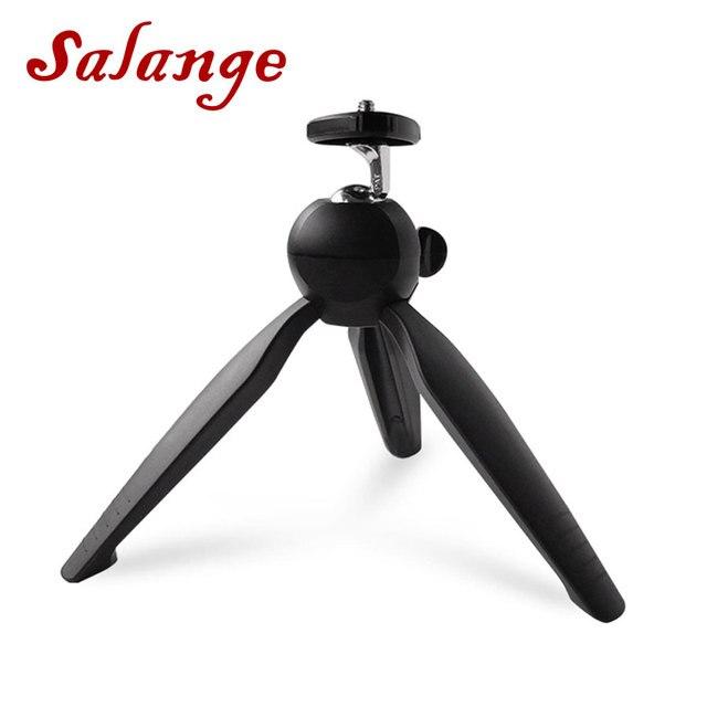 Salange Projector Desktop Tripod Holder Light weight 1/4 Screw Tabletop Tripod for Mini Projector For DV Phone Camera