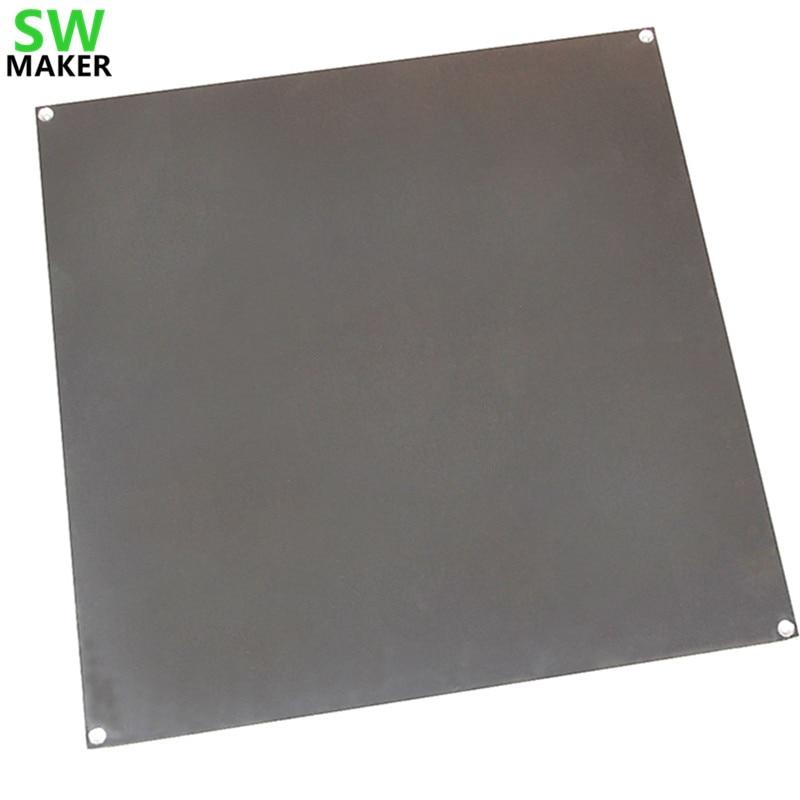 SWMAKER 3D printer large size hot bed aluminum heating printing platform support platform 320 320 3mm