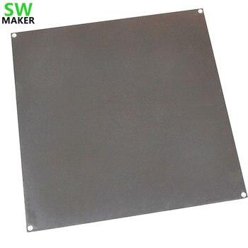 3D принтер SWMAKER, большой размер, алюминиевая нагревательная платформа для печати 320*320*3 мм
