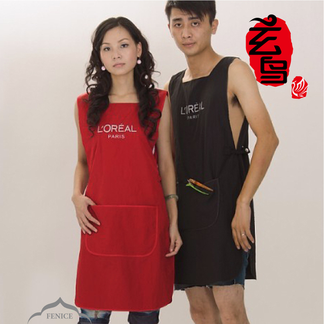 Salon Apron Double Face apron Salon Work Wear Barber Apron Salon Cape Hairdressing Cloth Hairdresser Tools FE-T003 49cm*90cm