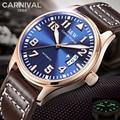 Швейцарские часы  карнавальные оригинальные светящиеся Мужские автоматические часы  модные мужские механические часы с сапфировым криста...