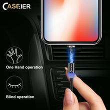 CASEIER Magnetic Cable Micro usb Type C Fast Charging Adapter For iPhone XS MAX XR X Micro usb Type C Magnetic Cable For Samsung