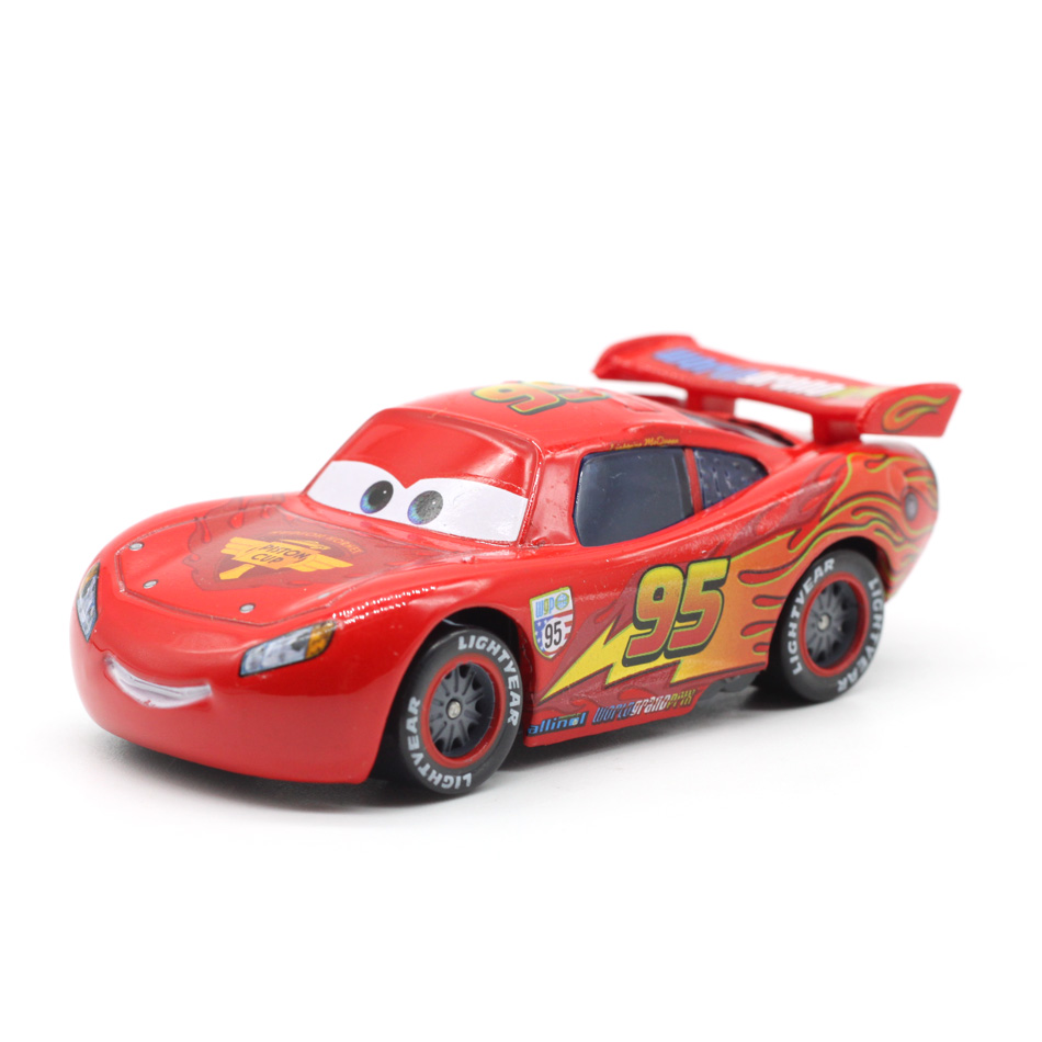 Disney Pixar Cars 3 Lightning McQueen Mater Jackson Storm 1:55 Diecast Metal Alloy Model Car Birthday New Year Gift Toy For Boy